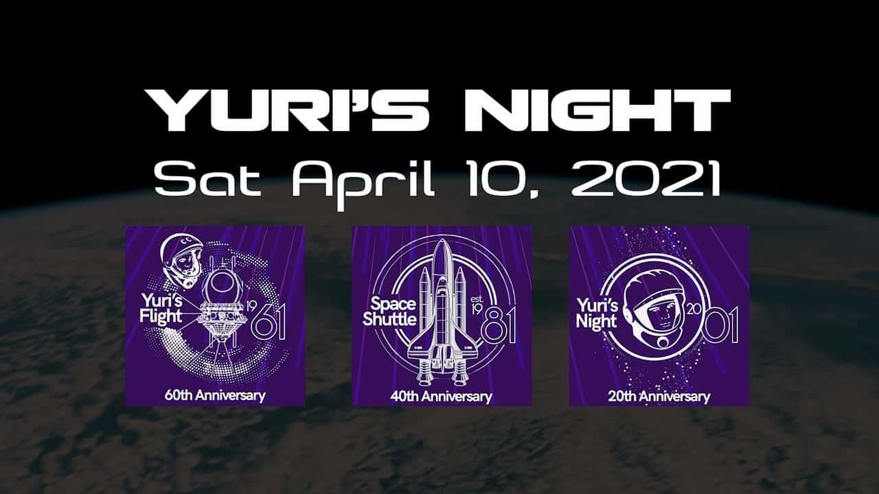 Yuri's Night 2021 - end card